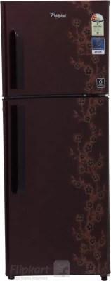 Whirlpool 245 L Frost Free Double Door Refrigerator(NEO FR258 CLS PLUS 2S, Wine Adonis, 2016)
