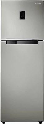 SAMSUNG 345 L Frost Free Double Door Refrigerator(RT36JDRZFSL, Easy Clean Steel)