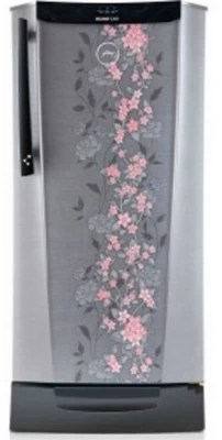 Godrej 212 L Direct Cool Single Door Refrigerator(RH EDGEDIGI 212PDS 6.2, Silver Spring)