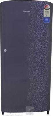 SAMSUNG 192 L Direct Cool Single Door Refrigerator(RR19J21C3VJ, Royal Violet Tendril, 2016)
