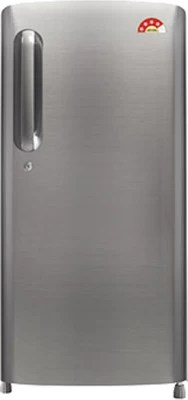 LG 190 L Direct Cool Single Door Refrigerator(GL-B201APZL, Shiny Steel, 2016)