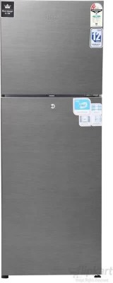 Haier 247 L Frost Free Double Door Refrigerator(HRF-2672BS-H/�HRF-2673BS-R, Brushline Silver)