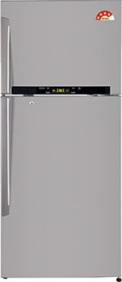 LG 470 L Frost Free Double Door Refrigerator(GL-T522GNSL, Noble Steel, 2016)
