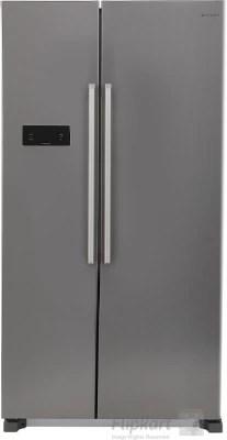 Panasonic 600 L Frost Free Side by Side Refrigerator(NR-BM601MS1N, Silver, 2016)