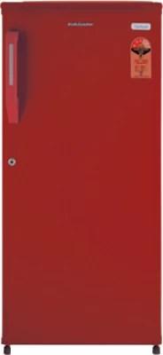 Kelvinator 170 L Direct Cool Single Door Refrigerator(KNE183, Burgundy RED)