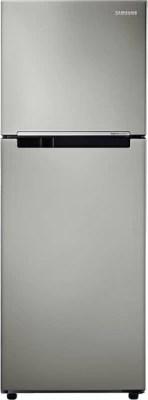 SAMSUNG 253 L Frost Free Double Door Refrigerator(RT28K3083SP/NL, Platinum Inox)