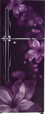 LG 255 L Frost Free Double Door Refrigerator(GL-F282RPOL, Purple Orchid)