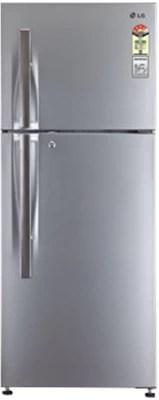 LG 285 L Frost Free Double Door Refrigerator(GL-M302RLTL, Nobel Steel)