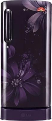 LG 235 L Direct Cool Single Door Refrigerator(GL-D241APAN, Purple Aster)