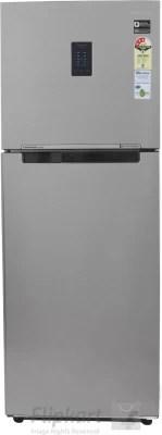 SAMSUNG 321 L Frost Free Double Door Refrigerator(RT34K3743S8, Elegant Inox, 2016)
