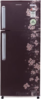 Kelvinator 190 L Frost Free Double Door Refrigerator(KP202PHR, Gulmohar Red)