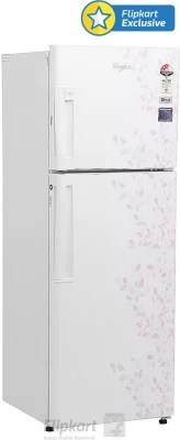 Whirlpool 265 L Frost Free Double Door Refrigerator(NEO FR278 ROY 3S, Imperia Snow)