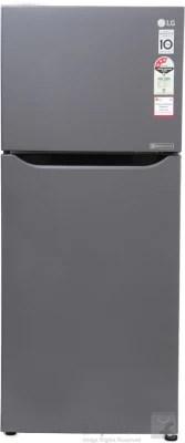 LG 260 L Frost Free Double Door Refrigerator(GL-Q292STNM, Titanium, 2016)