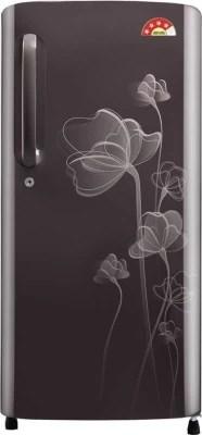 LG 190 L Direct Cool Single Door Refrigerator(GL-B201AGHL, Graphite Heart, 2016)