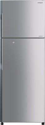 Hitachi 318 L Frost Free Double Door Refrigerator(R-H350PND4K (INX), Inox)