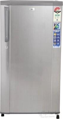 Haier 170 L Direct Cool Single Door Refrigerator(HRD-1905CS-H/�HRD-1905CBS-H, Hairline Silver)