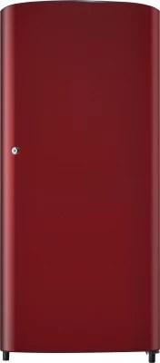 SAMSUNG 190 L Direct Cool Single Door Refrigerator(RR19H1427RH, Scarlet Wine Red)