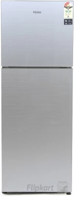 Haier 247 L Frost Free Double Door Refrigerator(HRF-2674PSG-R, Silver Glass, 2016)