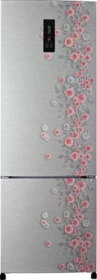 Haier 345 L Frost Free Double Door Refrigerator(HRB-3653PSL-H, Silver Liana)