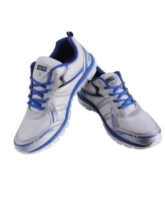 Lancer Crux-White & RoyalBlue Running Shoes(White, Blue)