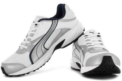 Puma Volt. II Ind. Men Running Shoes(White, Silver)