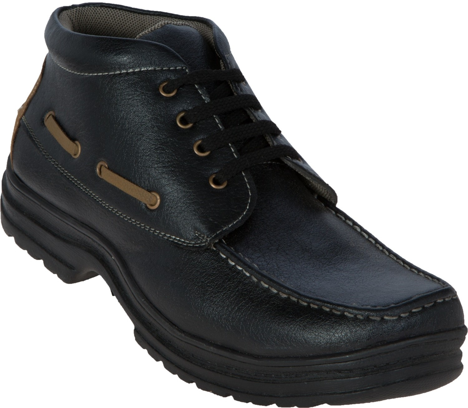 Zovi Black High Ankle Rugged Outdoors(Black)