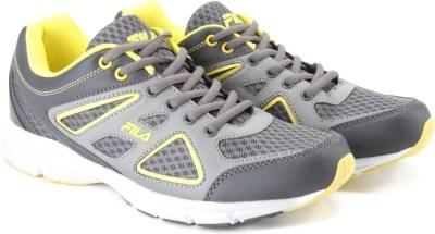 Fila Running Shoes(Grey, Yellow)