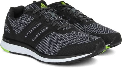 Adidas MANA BOUNCE M Running Shoes(Black, Grey)