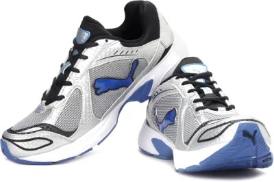 Puma Cruz Ind. Running Shoes(Silver, Black, Blue)