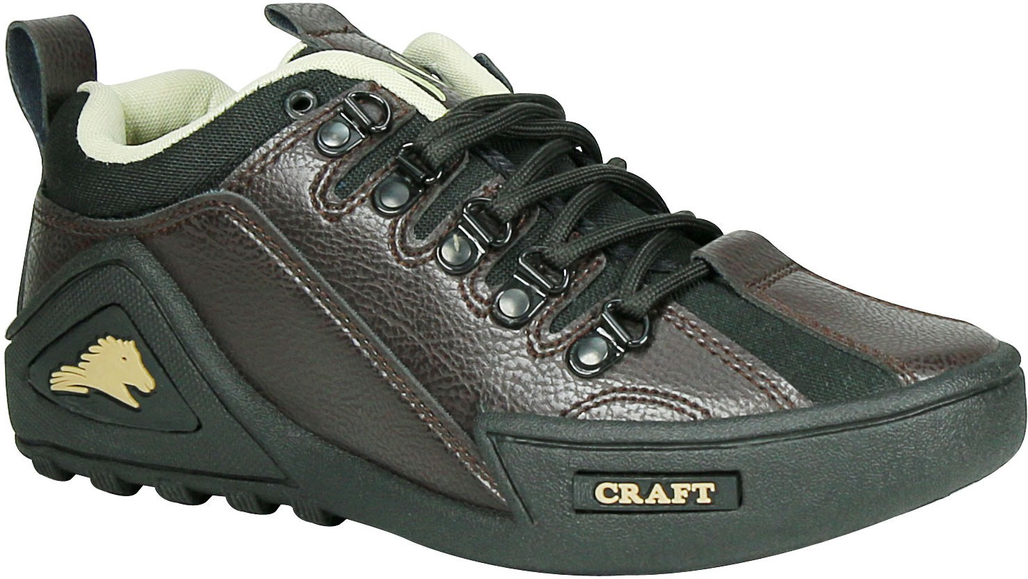 Woodcraft Solid Grace Outdoor Shoes(Brown, Black)