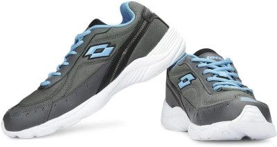 Lotto Rapid Running Shoes(Grey, White)