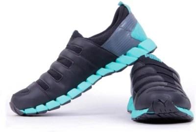 Puma Osu V4 Dp Black-Turbulence-Poo Running Shoes, Training & Gym Shoes(Black)