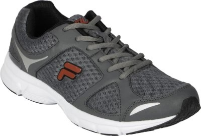 Fila GOSPEL Running Shoes(Grey, Red)