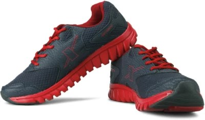 Sparx Running Shoes(Red, Blue)