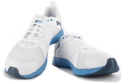 Puma Synthesis Men Running Shoes(White)