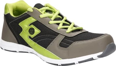 Bacca Bucci BBMG8007K Running Shoes(Grey, Green)