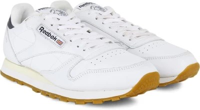 Reebok Cl Lthr Lp Men Running Shoes(White)