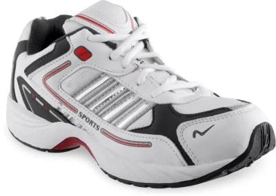 Lancer Running Shoes(White, Grey)
