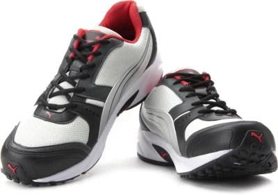 Puma Argus DP Men Running Shoes(Black, Grey)