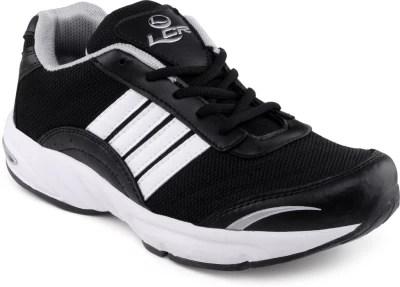 Lancer Black Running Shoes(Black, White)