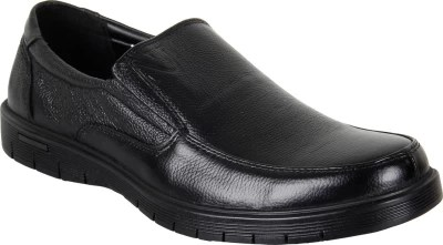 Numero Uno Slip On Shoes(Black)