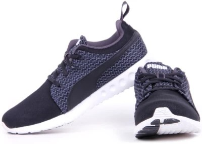 Puma Carson Runner Knit Running Shoes, Training & Gym Shoes(Black)