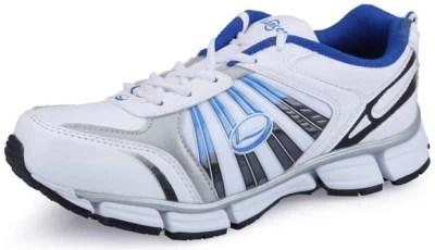 Lancer Fj-1401 White & Royalblue Running Shoes(White, Blue)