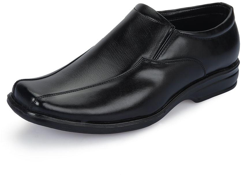 Adam's Heel 721 Slip On(Black)