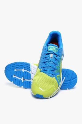 Puma Faas 300 S V2 Sulphur Spring-Cloisonn��-Sulphur Spring Running Shoes(Yellow, Blue)