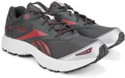 Reebok EXCLUSIVE II LP Men Running Shoes(Grey, Red, Silver)