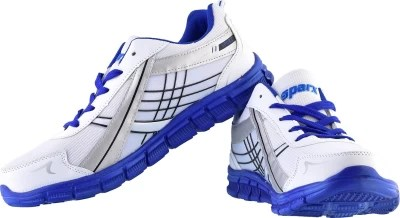 Sparx Running Shoes(White, Blue)