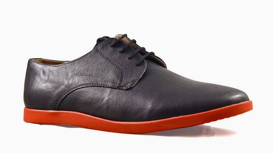 Knotty Derby Harry Corporate Casuals, Lace Up(Black)