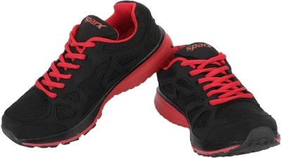 Sparx Rich Delight Running Shoes(Black, Red)