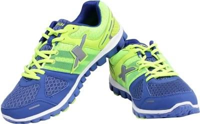Sparx Trendy Royal Blue Running Shoes(Blue, Green)